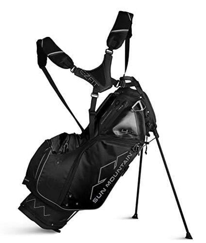 Sun Mountain 02SM254 BKBK 4.5Ls Supercharged Stand Bag Black/Black, Black|Black, Large