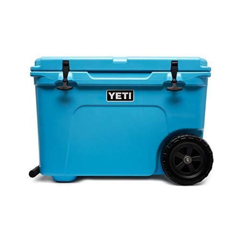 YETI Tundra Haul Portable Wheeled Cooler, Reef Blue