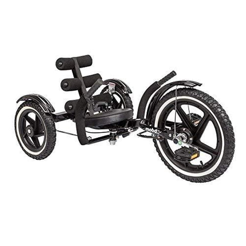"Mobo Tri-202BK: Mobito Sports Rear Wheel Steering, Black, 26""/One Size"