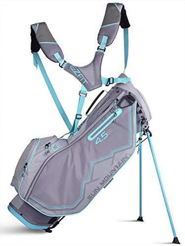 Sun Mountain 2019 Womens 4.5 Ls Stand Bag Grey/Blue