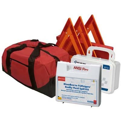 Safety and Trauma Supplies Basic NEMT DOT OSHA Compliant All-in-One Kit