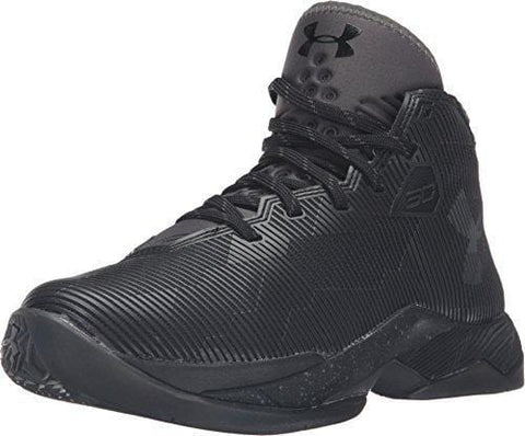 Under Armour Grade School Curry 2.5 Basketball Shoe (7Y, Black/Charcoal/Graphite)
