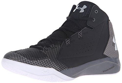 Under Armour Men's Torch Fade Basketball Shoe, Black (003)/Graphite, 11