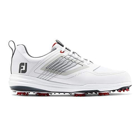 FootJoy Men's Fury Golf Shoes White 10.5 M Red, US [product _type] FootJoy - Ultra Pickleball - The Pickleball Paddle MegaStore