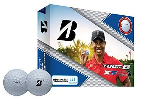 Bridgestone Tour B XS Tiger Woods Edition Golf Balls, Packaging may vary [product _type] Bridgestone Golf - Ultra Pickleball - The Pickleball Paddle MegaStore