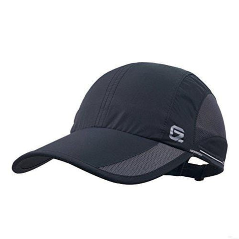 GADIEMKENSD Quick Dry Sports Hat Lightweight Breathable Soft Outdoor Run Cap (Classic Upgrade, Black) [product _type] GADIEMKENSD - Ultra Pickleball - The Pickleball Paddle MegaStore