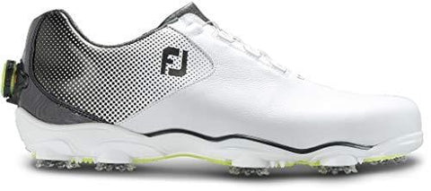 FootJoy Men's D.N.A. Helix Boa-Previous Season Style Golf Shoes White 11.5 M Black, US [product _type] FootJoy - Ultra Pickleball - The Pickleball Paddle MegaStore