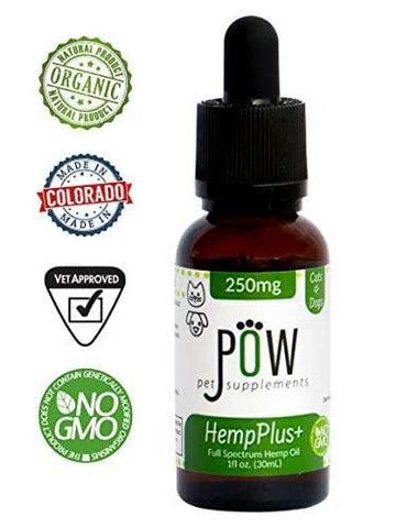 Advanced Hemp Oil Made for Dogs and Cats - Focuses on Anxiety Relief, Inflammation, Pain Relief and Joint Health- Made with MCT Oil and Organically Grown in USA