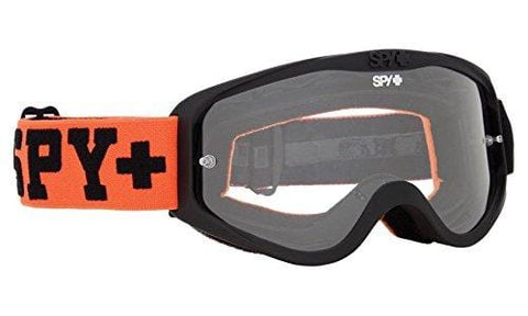 Spy Cadet MX Snowboarding Goggles (Jersey Orange, Clear AFP)
