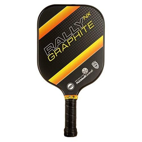 Pickleball Paddle - Rally NX Graphite Pickleball Paddle | Composite Honeycomb Core, Graphite Carbon Fiber Face | Lightweight | Pickleball Sets, Pickleballs, Paddle Covers Available | USAPA Approved