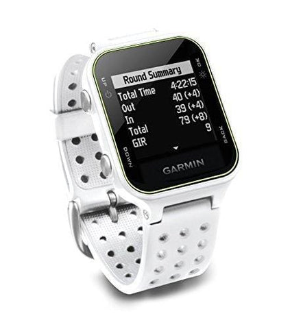 Garmin Approach S20 Golf Watch - White (Renewed)