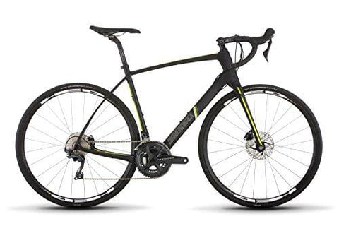 Diamondback Bicycles Century 6 Carbon Endurance Road Bike, 54cm/Medium, Black