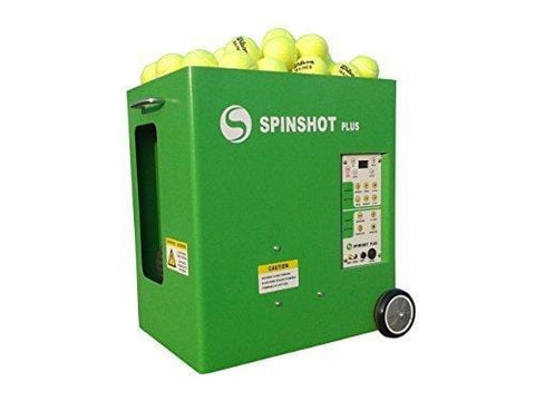 SPINSHOT-PLUS TENNIS BALL MACHINE with Phone Remote Supported