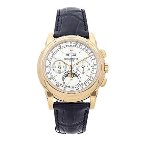 Patek Philippe Grand Complications Mechanical (Hand-Winding) Silver Dial Mens Watch 5970J-001 (Certified Pre-Owned)
