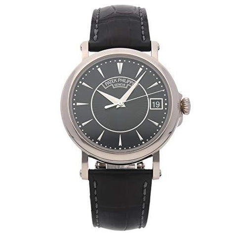 Patek Philippe Calatrava Mechanical (Automatic) Black Dial Mens Watch 5153G-001 (Certified Pre-Owned)