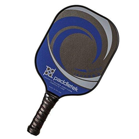 PaddleTek Tempest Wave Pickleball Paddle (Blue)