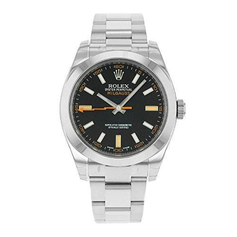 Rolex Milgauss Blue Dial Stainless Steel Mens Watch 116400GV