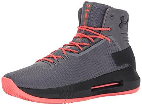 Under Armour Men's Drive 4 Basketball Shoe, (040)/Graphite, 8.5