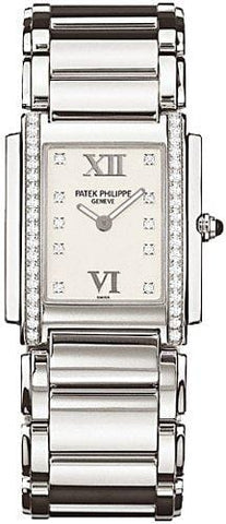 Patek Philippe Twenty 4 Diamond Ladies Watch - 4910/10A-011
