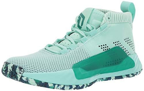 adidas Men's Dame 5, Clear Mint Marine/Legend Ink, 7 M US