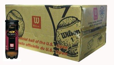WILSON WRT1072CS US Open High Altitude Balls -Case
