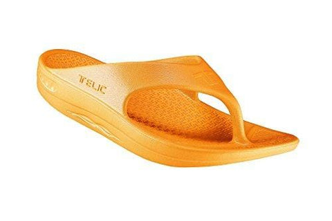 Telic / Terox Flip Flop Sandal Shoes Color Sweet Tangerine Various Sizes (3XL)