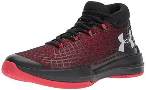 Under Armour Men's NXT TB Basketball Shoe, Black (003)/Red, 10