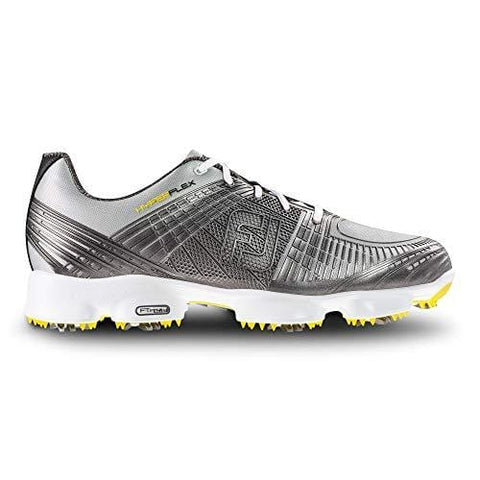 FootJoy Men's Hyperflex II-Previous Season Style Golf Shoes Silver 9 M US [product _type] FootJoy - Ultra Pickleball - The Pickleball Paddle MegaStore