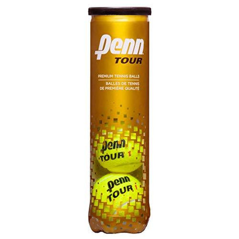 Penn Tour (Extra Duty) Tennis Balls (18-Can Case)