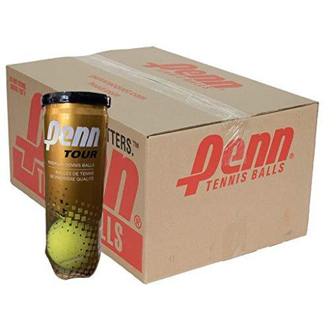 Penn World Tour Extra-Duty Tennis Balls - Case
