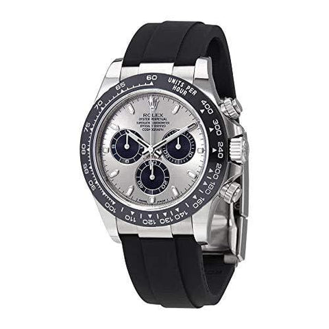 Rolex Oyster Perpetual Cosmograph Daytona 18K White Gold Mens Chronograph Watch 116519LN