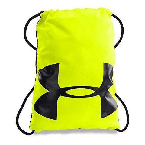 Under Armour Ozsee Sackpack, High-Vis Yellow /Black, One Size