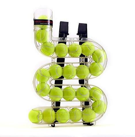 "SPEEDFEED Tennis Ball Feeder Training Tool Convenient Ball Storage Device | Alternative to Stationary Ball Baskets | Holds 23 Tennis Balls | Made in USA | 20.25"" x 14"" x 3.25"
