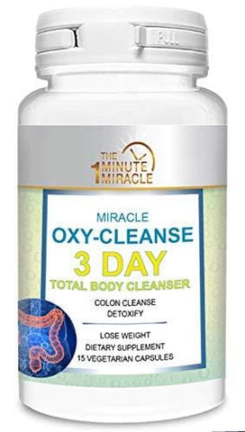 3 Day Total Body Cleanser and Detox - Miracle OXY-Cleanse