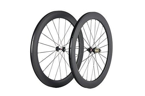 Sunrise Bike Carbon Wheels 60mm Depth 25mm Width Clincher Wheelset 700c Road Cycling Rim