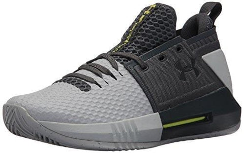 Under Armour Men's Drive 4 Low Basketball Shoe, Stealth (111)/Overcast Gray, 10