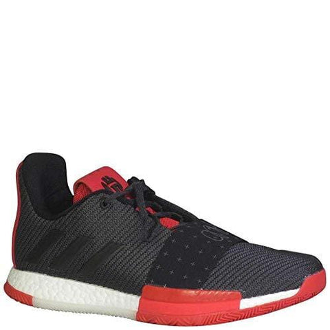 adidas Harden Vol. 3 Shoe Mens Basketball 11 Core Black-Grey-Scarlet Core Black/Grey/Scarlet