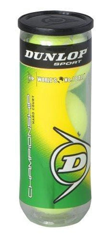 Dunlop Sports Champ Hard Court 3 Ball Can [product _type] Dunlop Sports - Ultra Pickleball - The Pickleball Paddle MegaStore