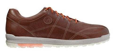 FootJoy VersaLuxe Men's Spikeless Golf Shoes (Previous Season) - Luggage Caramelo (11.5 D(M) US) [product _type] FootJoy - Ultra Pickleball - The Pickleball Paddle MegaStore