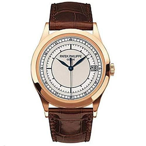 Patek Philippe Calatrava Swiss-Automatic Male Watch 5296R-001 (Certified Pre-Owned)