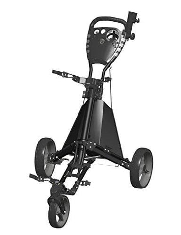 Easy Drive Push Cart, Swiveling Front Wheel - Black/Gray - GCDRIVE-BS