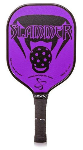Onix Composite Slammer Pickleball Paddle, Purple