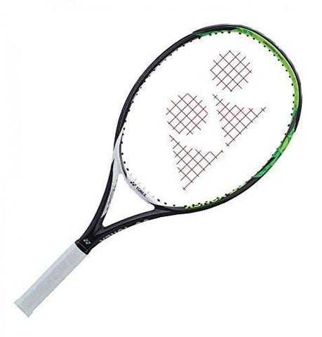 "Yonex EZONE 108 Extended/Oversized 16x18 Lime Green Tennis Racquet (4 1/4"" Grip) Strung with Lime Green Color String (Best Racket for Power and Spin)"