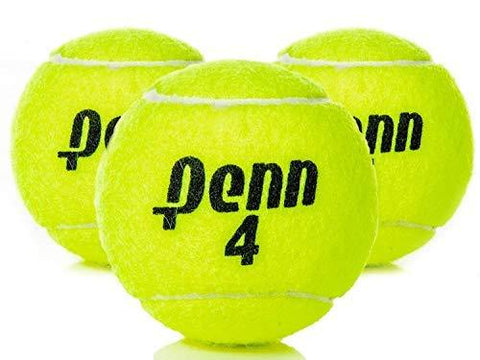 Penn High Altitude Tennis Balls Championship - 4-Pack 12 Balls Yellow - USTA & ITF Approved - Official Ball of The United States Tennis Association Leagues - Natural Rubber for consistent Play