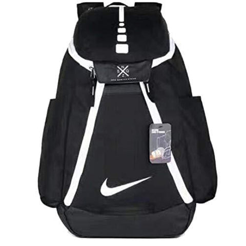 DeLamode American NBA Basketball Backpacks Travel Student Shoulder Bags BlackWhite
