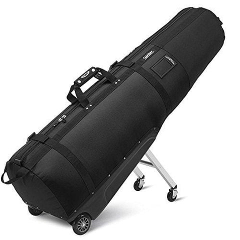 Sun Mountain Clubglider Journey Wheeled Travel Covers Black/Charcoal