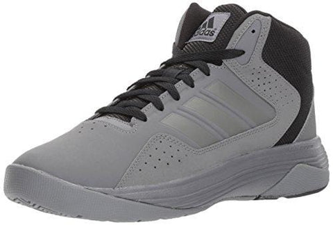 adidas Men's CF Ilation MID Basketball Shoe, Grey Four/Black, 7.5 Medium US