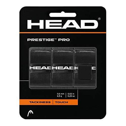 HEAD Prestige Pro Tennis Racquet Overgrip - Black [product _type] HEAD - Ultra Pickleball - The Pickleball Paddle MegaStore