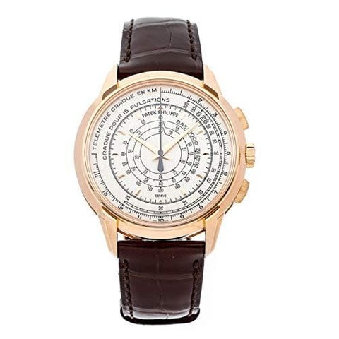 Patek Philippe Complications Mechanical (Automatic) Silver Dial Mens Watch 5975R-001 (Certified Pre-Owned)