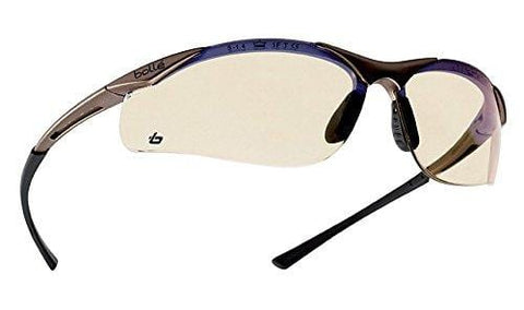 Bollé Safety 253-CT-40047 Contour Safety Eyewear with Semi-Rimless Nylon Frame and ESP Tinted Anti-Fog Lens